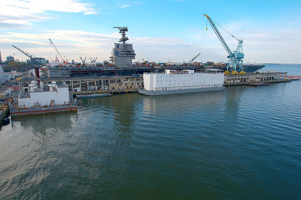 Virginia Natural Gas converts steam barge to natural gas to power naval ships and reduce environmental impacts
